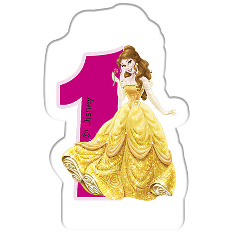 Disney Prinsessor födelsedagsljus, 1 år