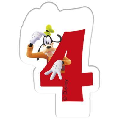 Vela cumpleaños Goofy, 4 años