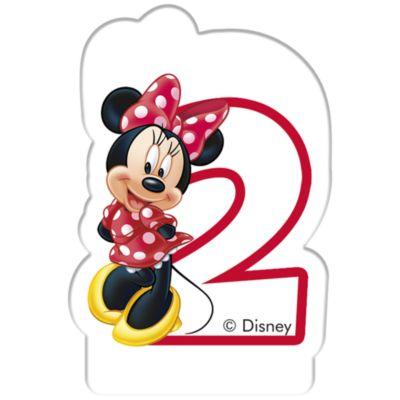 Bougie d'anniversaire Minnie Mouse, 2 ans