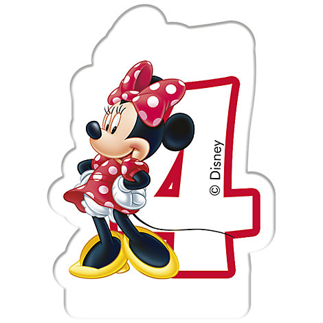 Minnie Mouse fødselsdagslys, 4 år