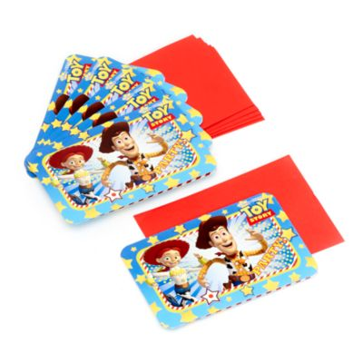 Toy Story - 6 x Einladungskarten