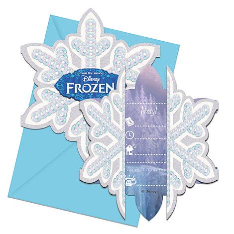Invitaciones Frozen (6 unidades)