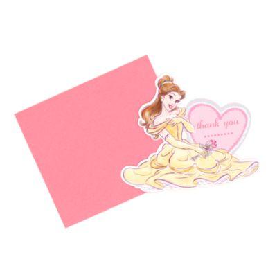 Principesse Disney, 6 biglietti ringraziamento