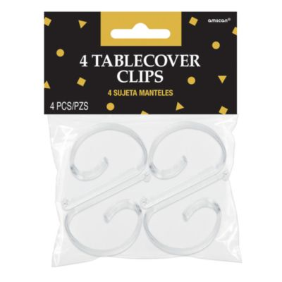 Table Cover Clips, Pack of 4