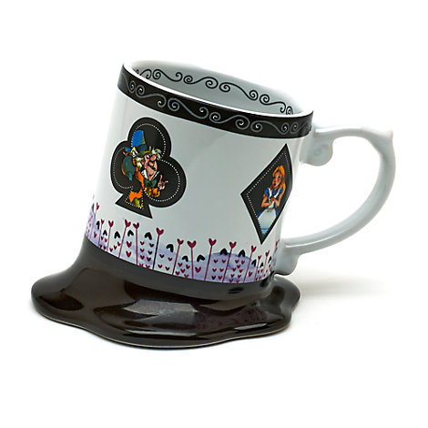 Alice In Wonderland Melted Mug, Disneyland Paris