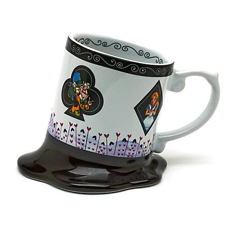 Alice In Wonderland Melted Mug, Disneyland Paris