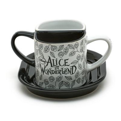 Ensemble de 2 mugs Alice au Pays des Merveilles Disneyland Paris