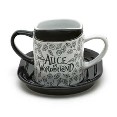 Disneyland Paris - Alice im Wunderland Set mit 2 Bechern