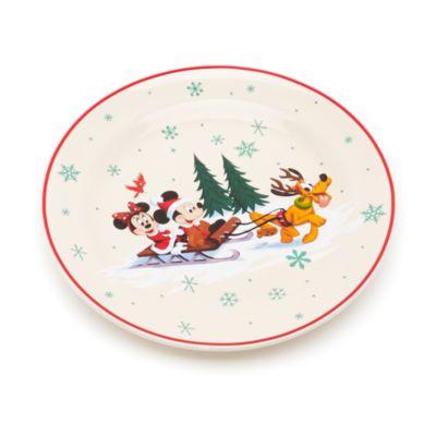 Musse och Mimmi Pigg jultallrik, Walt Disney World
