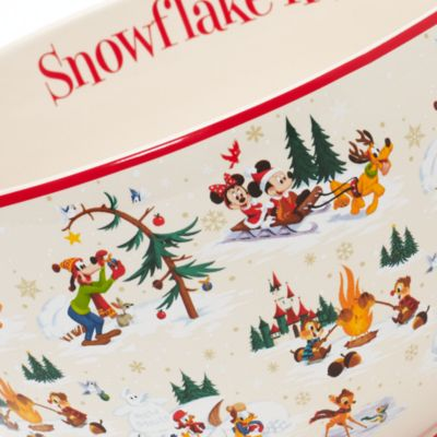Saladier de Noël Mickey Mouse et ses amis, Le Monde de Walt Disney