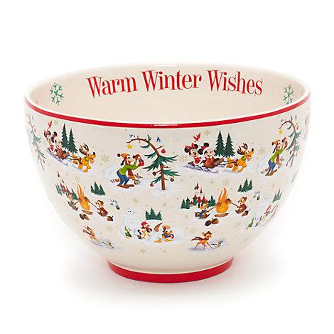 Mickey Mouse og vennerne juleserveringsskål, Walt Disney World