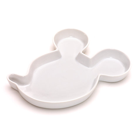 White Mickey Mouse Snack Bowl, Disneyland Paris