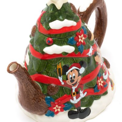 Walt Disney World - Weihnachtliche Teekanne