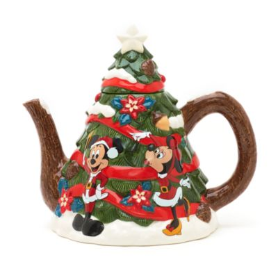 Walt Disney World Christmas Teapot