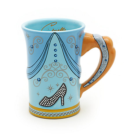 Tazza scolpita Cenerentola Walt Disney World