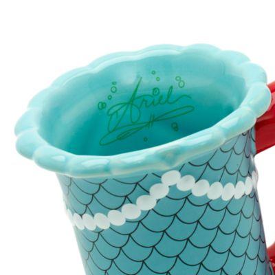 Taza esculpida Ariel, La Sirenita, Walt Disney World