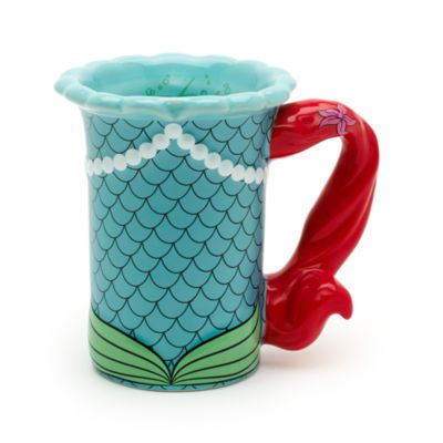 Walt Disney World Ariel Sculpted Mug, The Little Mermaid