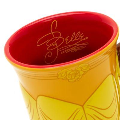 Tazza scolpita Belle, La Bella e La Bestia, Walt Disney World