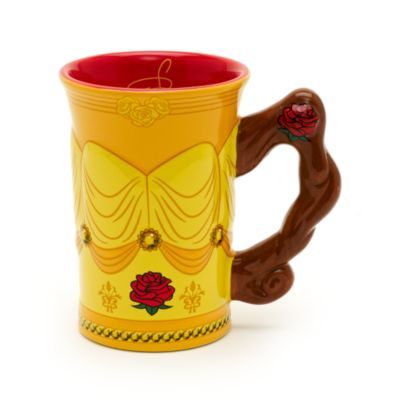 Walt Disney World Belle Sculpted Mug, Beauty And The Beast