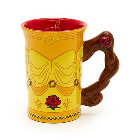 Walt Disney World Belle Sculpted Mug, Beauty And The Beast