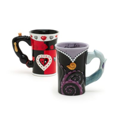 Walt Disney World Queen of Hearts Sculpted Mug, Alice in Wonderland
