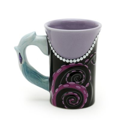 Mug sculpté Ursula de La Petite Sirène, Walt Disney World