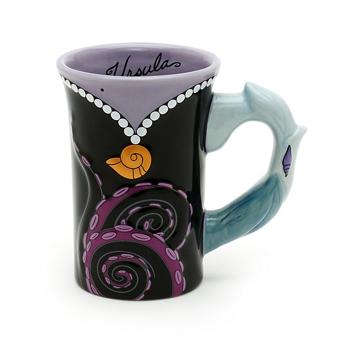 Walt Disney World Ursula Sculpted Mug, The Little Mermaid