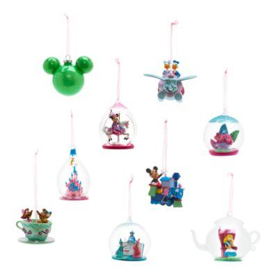 Disneyland Paris - Tinkerbell Schloss-Weihnachtsbaumkugel