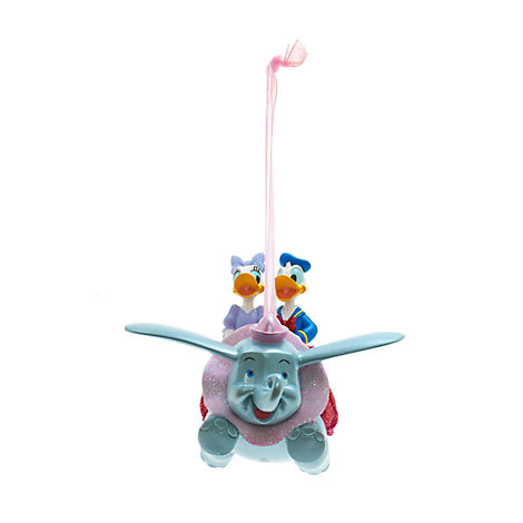 Disneyland Paris Donald und Daisy mit Dumbo Dekoration