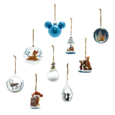 Stampe og Bambi julepynt, Disneyland Paris