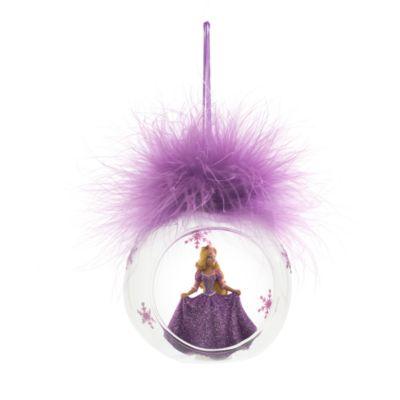 Palla di Natale con piuma Rapunzel, Disneyland Paris