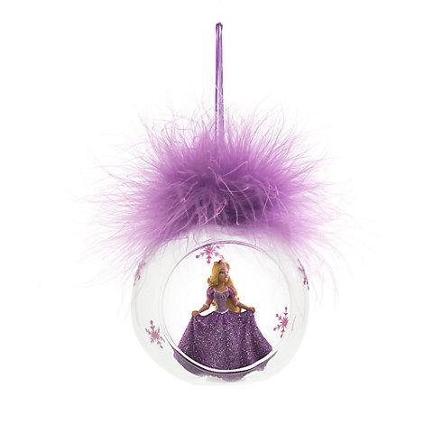 Bola Navidad pluma Rapunzel, Disneyland Paris