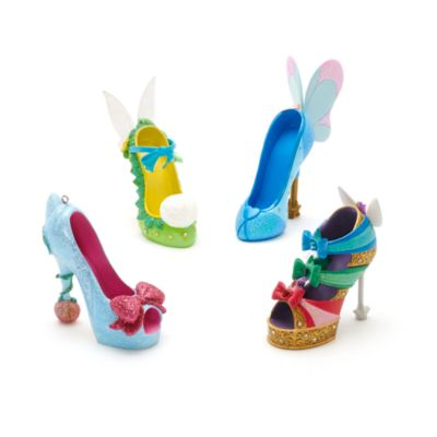 Disney Parks Blue Fairy Miniature Shoe Ornament, Pinocchio