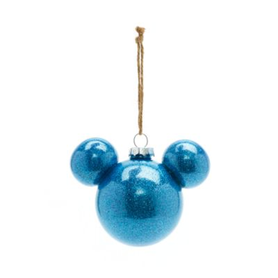 Mickey Mouse Blue Bauble, Disneyland Paris