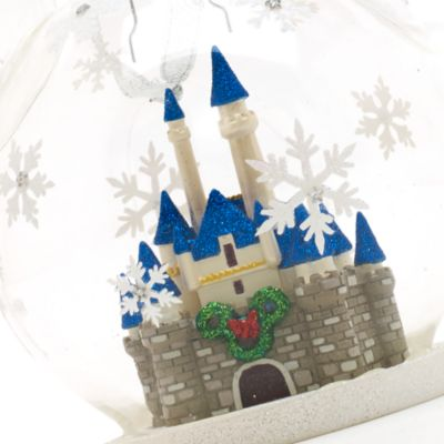 Decoración navideña castillo, Walt Disney World