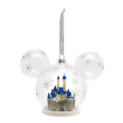 Décoration de Noël château, Walt Disney World
