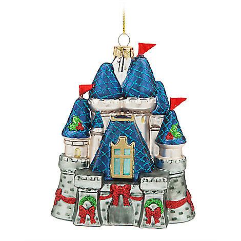 walt disney castle christmas decoration. Black Bedroom Furniture Sets. Home Design Ideas