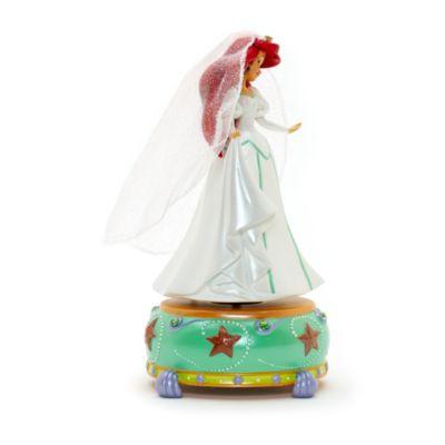 Disneyland Paris Ariel statyett med speldosa, Den lilla sjöjungfrun
