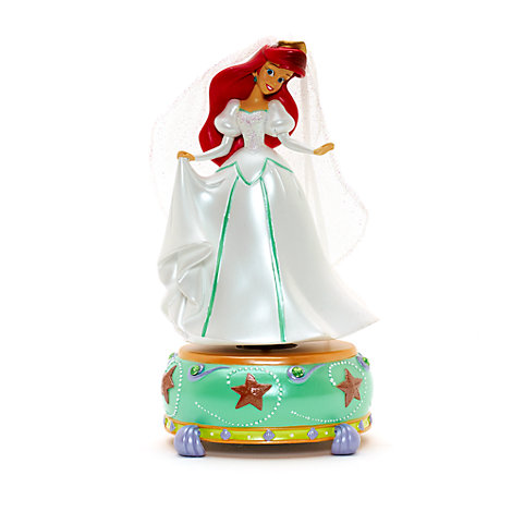 Disneyland Paris Ariel Musical Figurine, The Little Mermaid