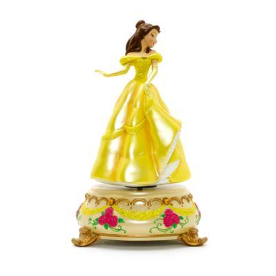 Disneyland Paris Belle statyett med speldosa, Skönheten och Odjuret
