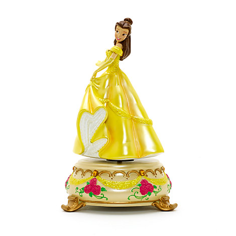 Figurine musicale Belle Disneyland Paris, La Belle et la Bête