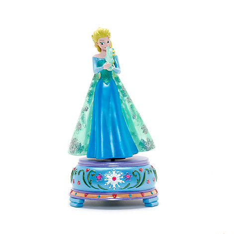 Disneyland Paris Elsa figur med musik, Frost