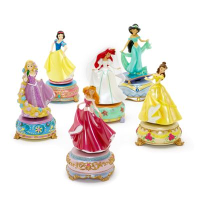 Figurine musicale Princesse Jasmine Disneyland Paris, Aladdin