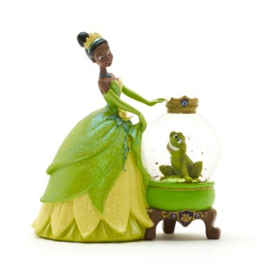 Tiana Snow Globe, The Princess And The Frog