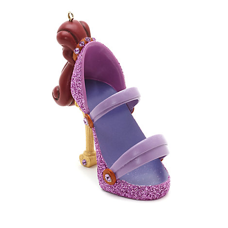 Disney Parks Megara Miniature Shoe Ornament, Hercules
