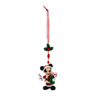 Decoraciónnavideña colgante Mickey Mouse, Disneyland Paris