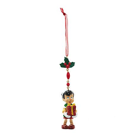 Decorazione natalizia pendente Pinocchio, Disneyland Paris