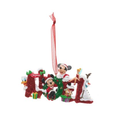 Micky und seine Freunde - Noel Weihnachtsdekoration Disneyland Paris