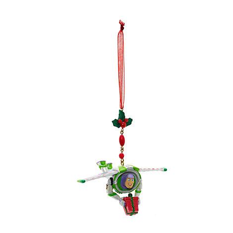 Buzz Lightyear Christmas Dangle Decoration, Disneyland Paris