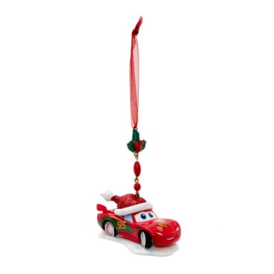 Lightning McQueen Christmas Dangle Decoration, Disneyland Paris